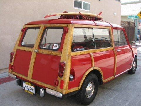 Austin Mini 1000 Clubman wagon