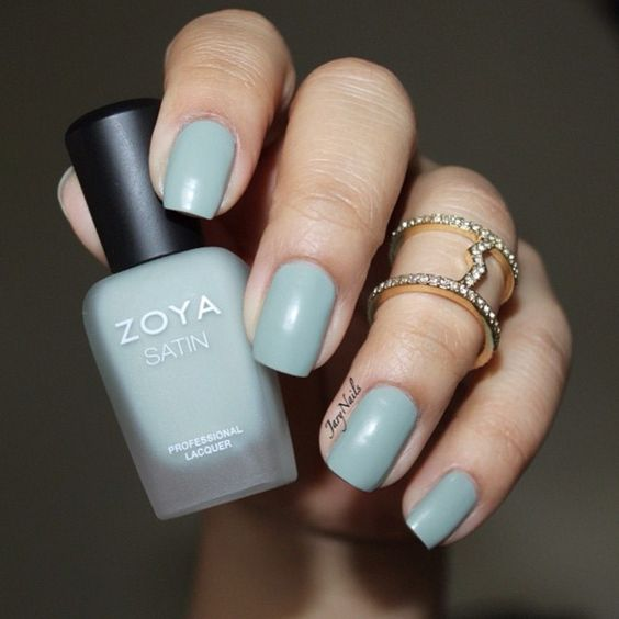 Sage, from @zoyanailpolish is a sage green