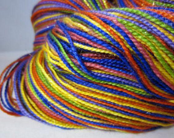 FiberAddictDesigns auf Etsy Sockenwolle handgefärbt