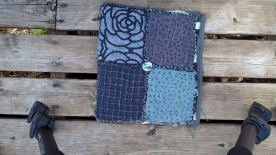 fabric journal 1 of 4. Video by teesha moore on Vimeo... all 4 vids are fab