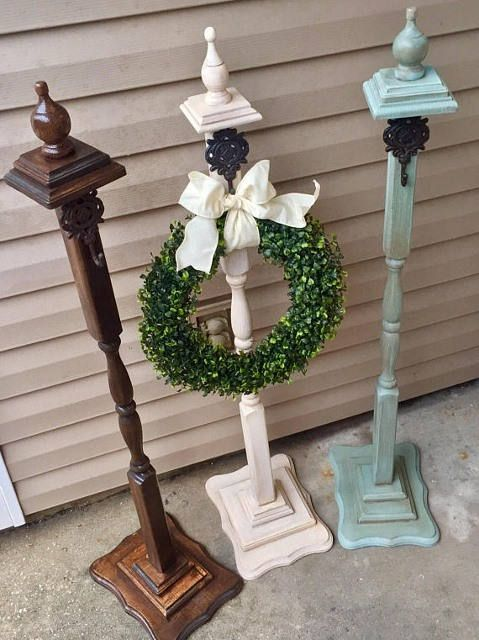 Wreath Stand Sign Stand Welcome Post Wreath Hanger Wreath Stand