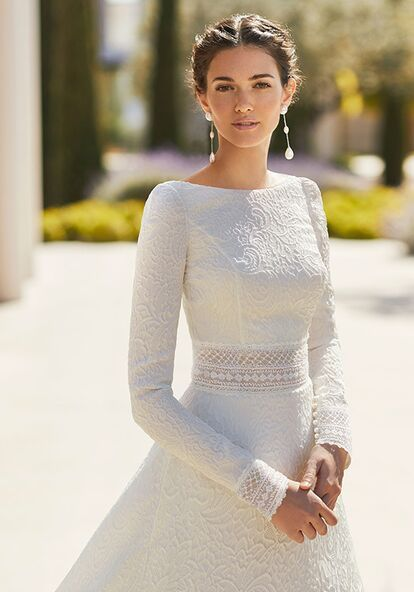 Rosa Clará Couture SERGE Wedding Dress | The Knot
