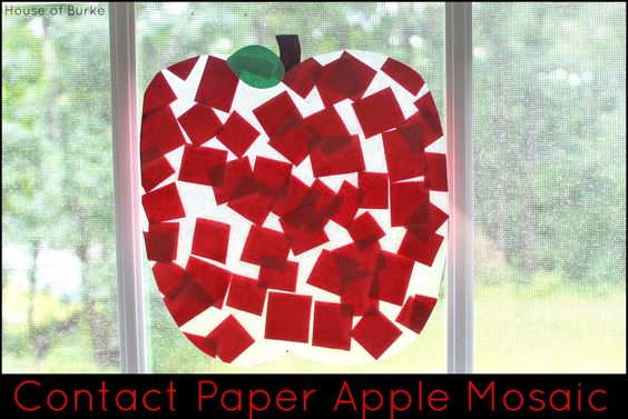 House of Burke: Contact Paper Apple Mosaic