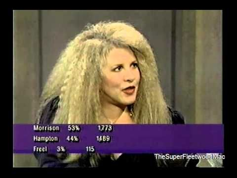 Stevie Nicks- Late Show Interview (With David Letterman 1994) (HQ REVAMPED UPCONVERTED)
