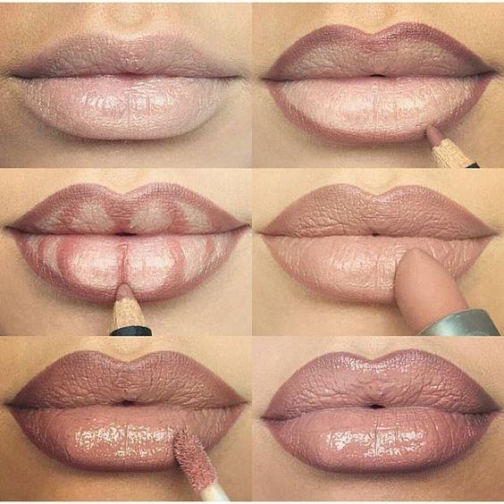 Tutoriales  y Maquillajes de labios 7d64b752949dcd09a8e2f05e68f16fc4