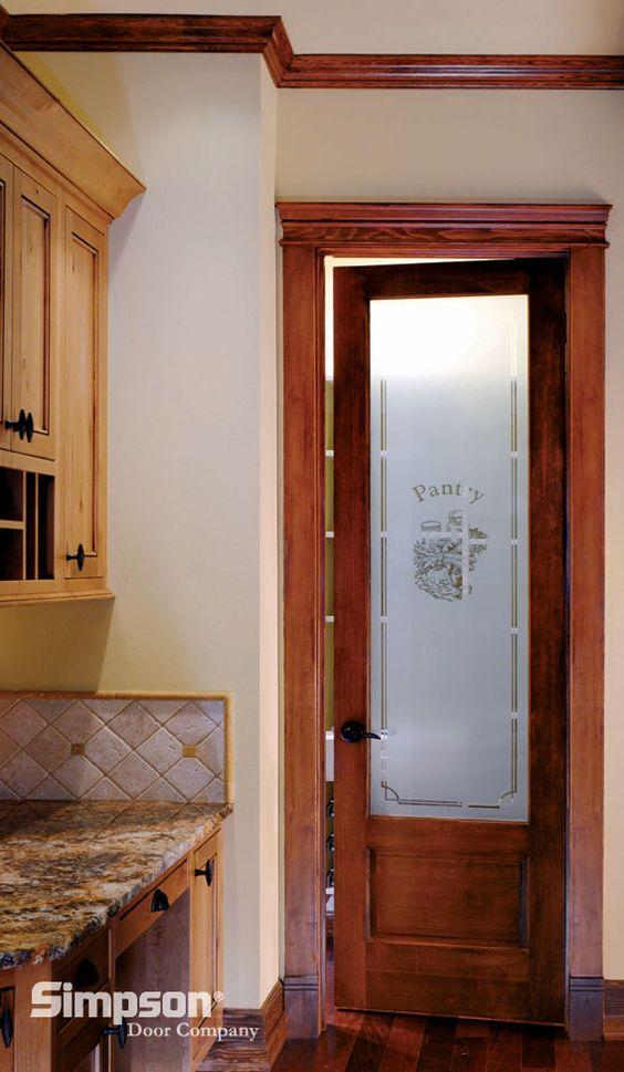 Pantry doors pantry and doors on pinterest for Interior 8 foot doors