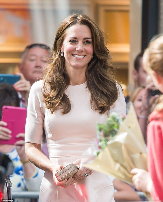 Catherine, Duchess of Cambridge, during her visit to Truro Cathedral on September 1, 2016 in Truro, United Kingdom.