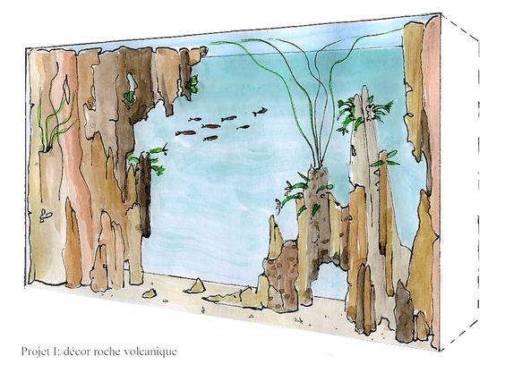 Aquarium grand volume
