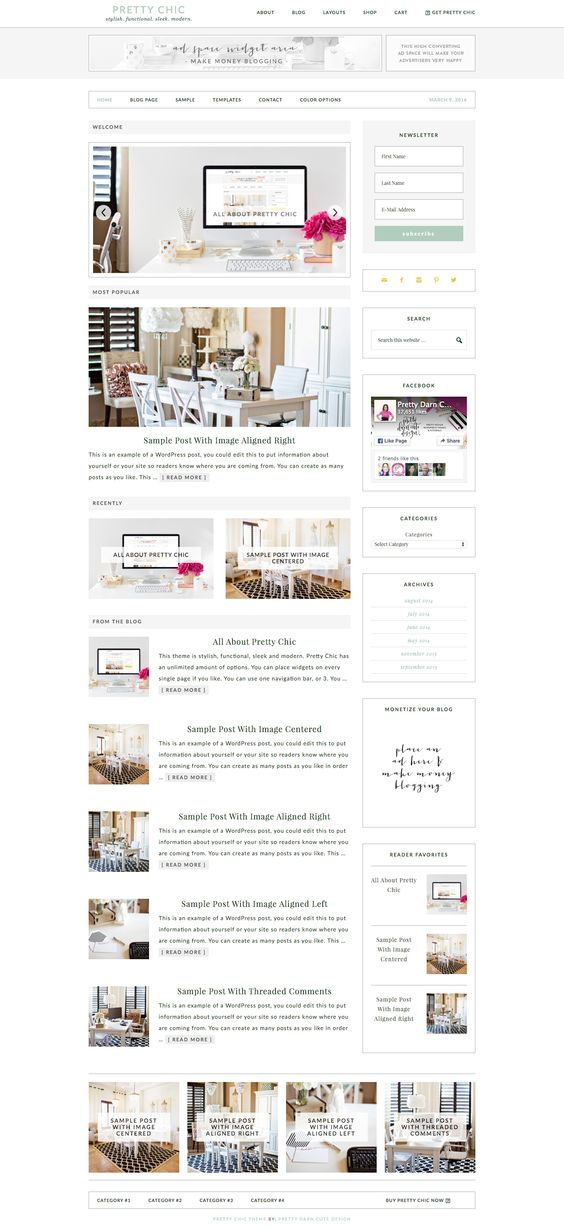 Pretty Chic theme