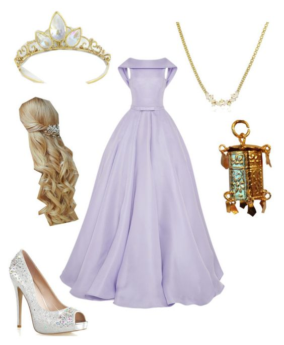 """""""Rapunzel"""" by engriffin ❤ liked on Polyvore featuring Naeem Khan"""