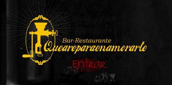 Restaurante QUEAREPARAENAMORARTE. Medellin, Colombia