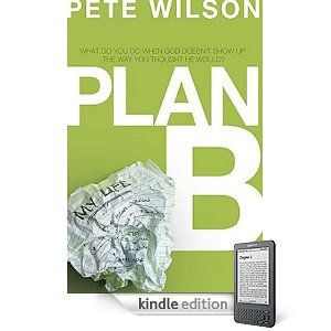 Plan B by @Pete Wilson this book literally changed my life. Just when I needed it most! It and @Relationship Help Centers. Tho they were both sent to me from God! No doubt.. Look for Pete's new book.. #lethopein he's a Nashville man btw! #home!