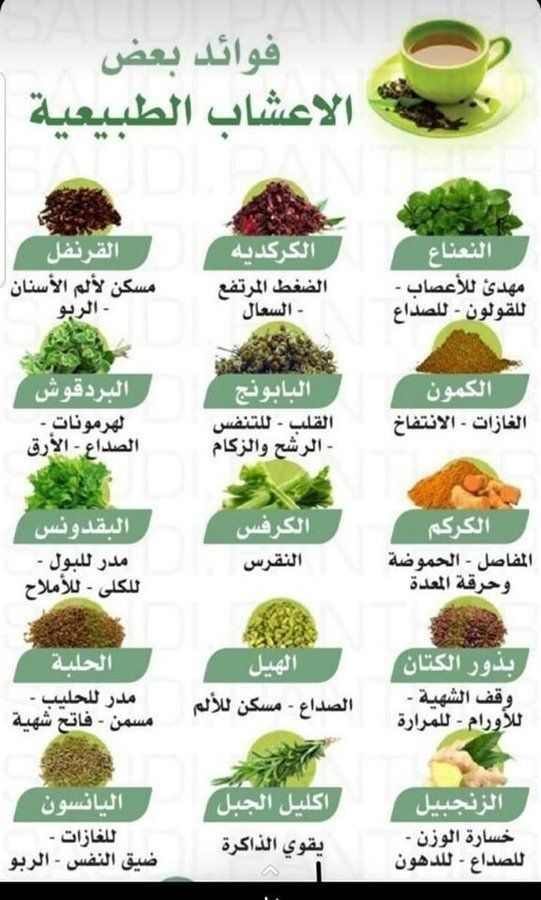 فوائد بعض الاعشاب الطبيعية In 2021 Health Facts Food Health Food Health Fitness Nutrition