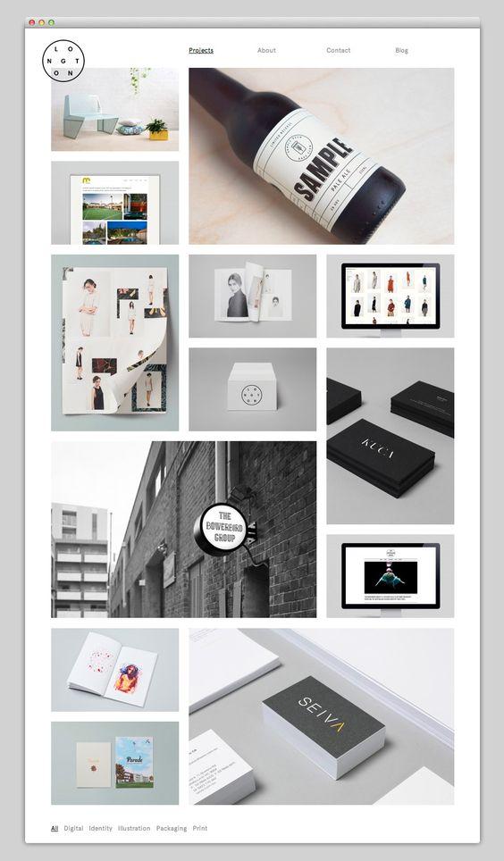 The Web Aesthetic —Me agrada la manera en que se muestran las imágenes.