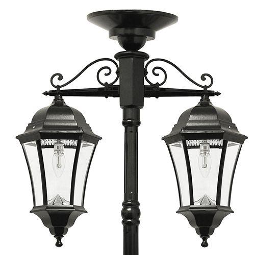 Led Solar Lamp Post