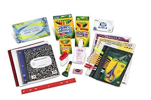 First and Second Grade Classroom Supply Pack