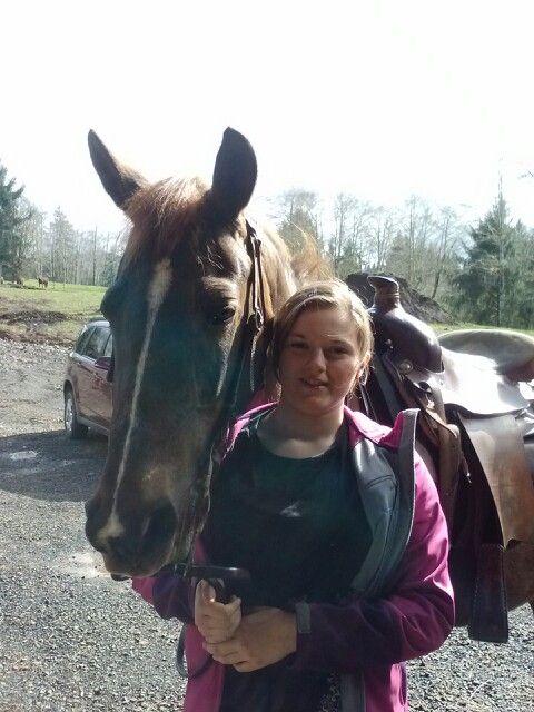 Holiday Kate-lyn morgan horse