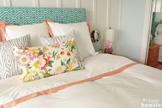 Romantic Bedroom Ideas - Krista @ thehappyhousie