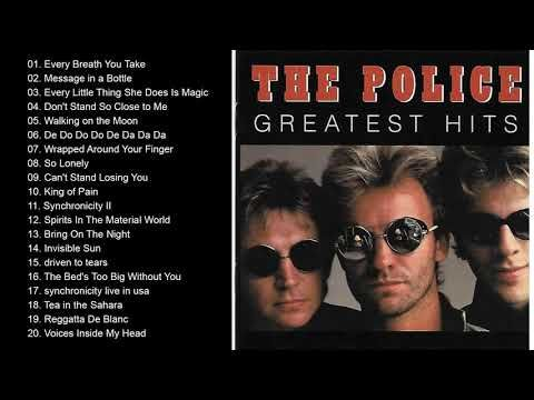 The Police Best Songs The Police Greatest Hits Full Album Youtube In 2021 Best Songs Greatest Hits Songs