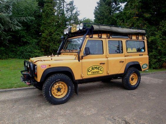 Camel Trophy Land Rover Defender 110 wwww.foleysv.com