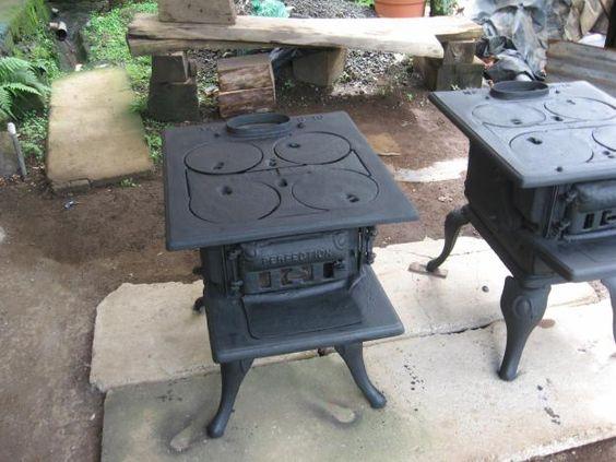 Estufas antiguas de hierro fundido airea condicionado - Estufas de lena baratas de segunda mano ...