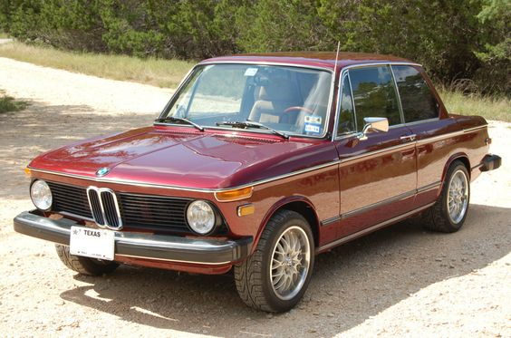 1975 Bmw 2002 Coupe 2.0l