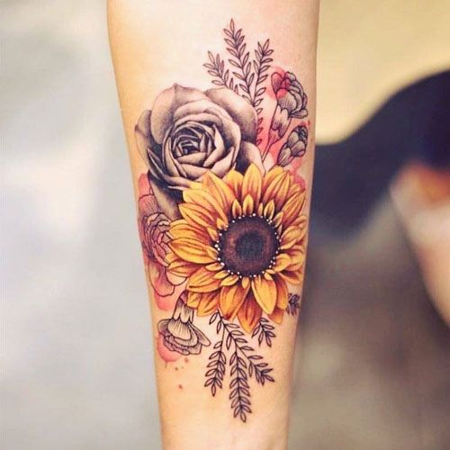 Flower Tattoos For Women Best Tattoos For Women Cute Unique And Meaningful Tattoo Ideas For Girls Get Cool F Best Tattoos For Women Tattoos Cover Tattoo