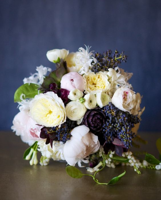 BETH: My Wedding Bouquet! Design by Kiana Underwood / tulipina.com | NRU Photo