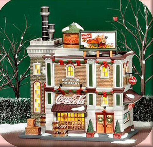 Coca-Cola Bottling Company NEW Department Dept. 56 Christmas In The City Village