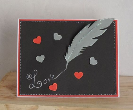 carte St Valentin et carnaval