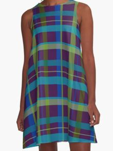 Purple & Lime A-Line Dress  by Scar Design #summerclothing #summervacationsdress #beachdress #beach #summerfashion #giftsforher #gifts #giftsforteens #summergifts #womensfashion #hipster #colorful #style #swag #sunset #sunsetdress #dress #summerdress #summer2016 #buydress #Alinedress #buydresses