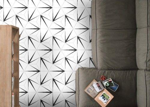 Codicer Hex Trident Blanco Hexagonal 25x22 gres matowy | Hexagon tiles, Bath trends, Hexagon