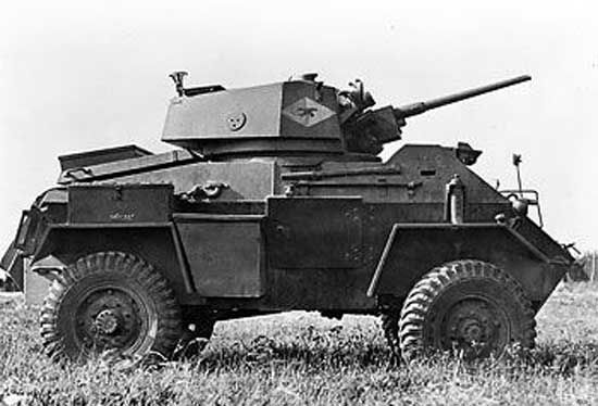 The Humber was an armoured car that was widely used by the British during World War II. Three thousand six hundred fifty two were built.