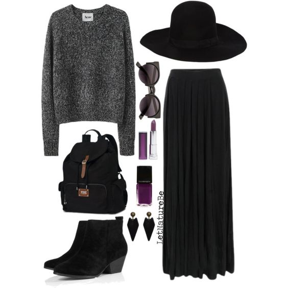 tips for my long black skirt: