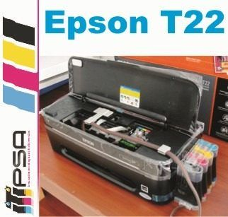 Impresora Epson T22 Con Sistema De Tinta Continua El Mejor - $ 1,299.00