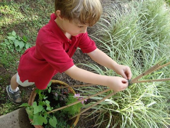 Inspiring backyard project to teach respect for, love of, responsibility for nature. http://JewishHolidaysInABox.com