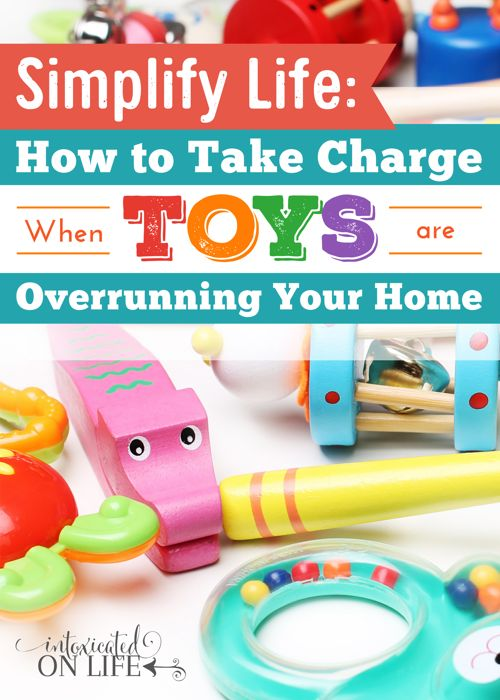 Toys are overrunning my house. This is just what I need! A solution that's not complicated or time consuming.