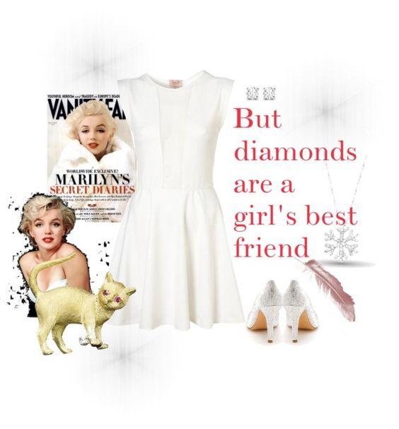 """Marilyn Monroe"" by maria-kononets ❤ liked on Polyvore"
