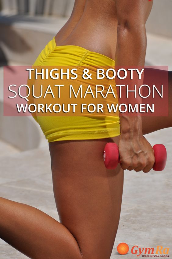Squats are one of the most time-efficient ways to burn fat and calories. This booty workout will tone & tighten in all the right places! Click the image to see the routine.