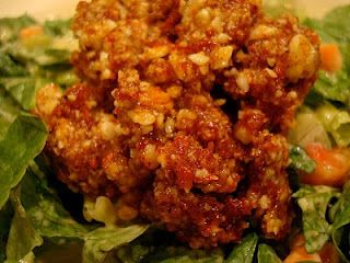 """Raw Vegan Taco Nut """"Meat""""- this is a good one- I've made this with only walnuts and it's just as great"""