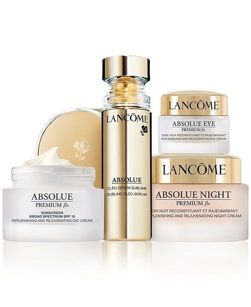 Lancome Absolue Premium Bx Skincare Collection Reviews Skin Care Beauty Macy S Best Skin Care Brands Skin Care Lancome Absolue