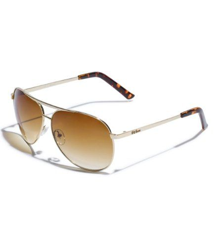 Shape your looks with a trend-right touch. These perfect aviators are your everyday fix to on-the-go style. Aviator sunglasses UVA, UVB protectio ...