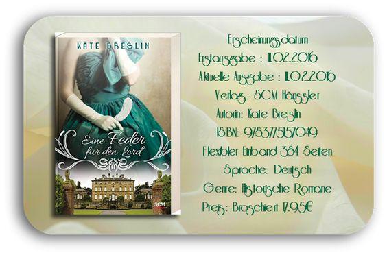 """Leserattes Bücherwelt: [Rezension] """" Eine Feder für den Lord"""" Kate Bresli..."""