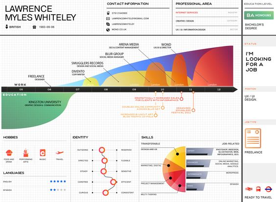 Infographics - CV - Lawrence Miles Whiteley | Business ...