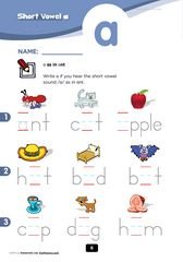 printable phonics worksheets (1st grade) ~Not all of these are free but I was able to print a few without being a member. Looks like it might be worth the membership though =)