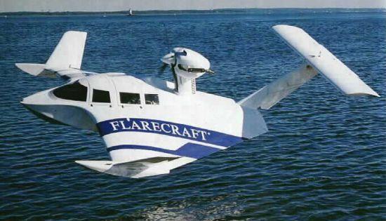 Mini sea plane.