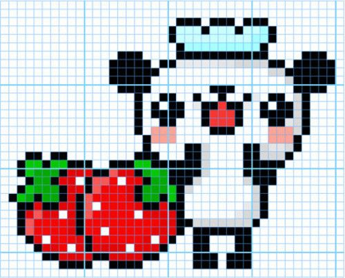 Imgs For > Simple Pixel Art Mario pixel art Pinterest ...