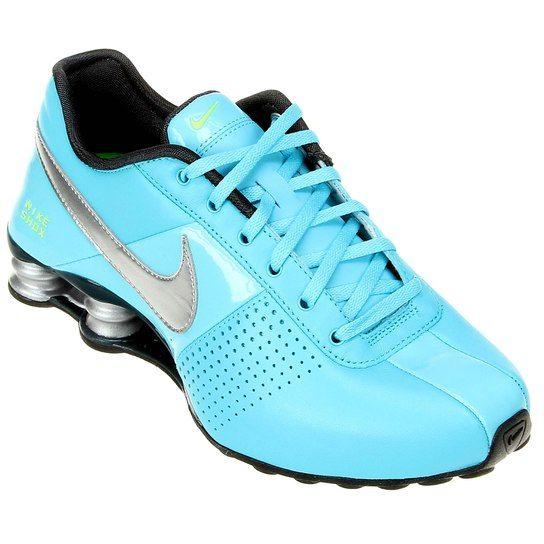 Tênis Nike Shox Deliver Azul Piscina | Tênis nike shox