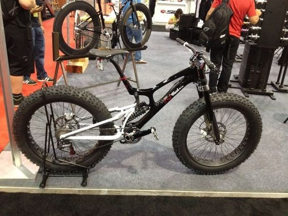Full Suspension Fat Tire Bike Mountain Bikes Pinterest
