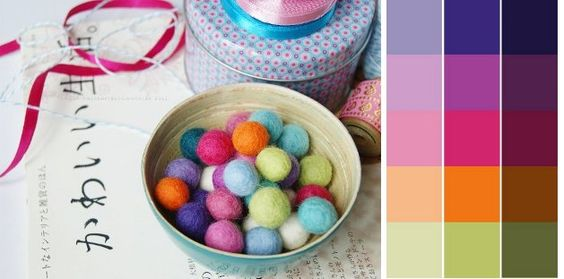 How to create a color palette from a photograph